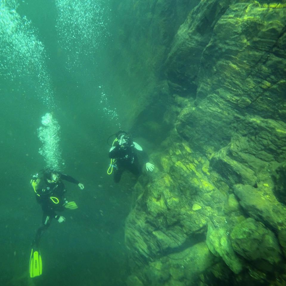 Mergulho Rifaina Canion 50 metros