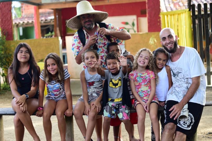 Comunidade do Bonete, em Ilha Bela é palco da gravação de videoclipe